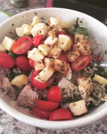 Chicken Pesto Bowl