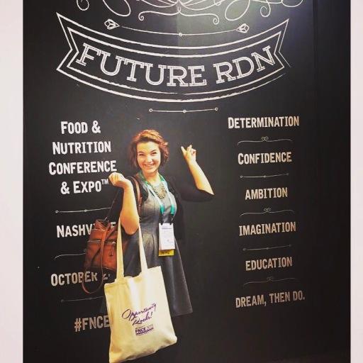 Future Registered Dietitian Nutritionist: FNCE 2015